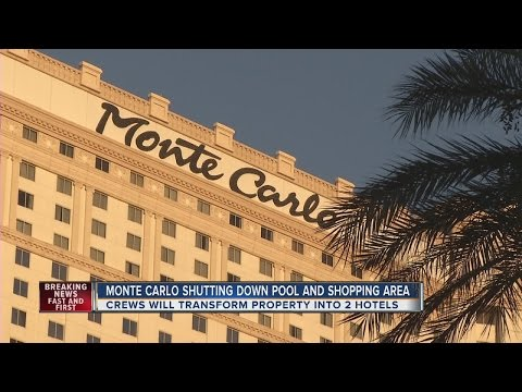 Monte Carlo pool, shops closing in October ahead of new hotels