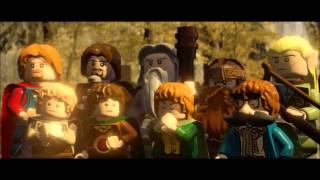 LEGO Lord of the Rings - The Fellowship of the Ring FULL MOVIE