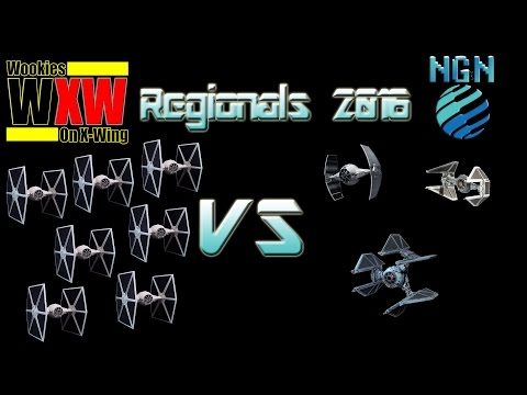 Star Wars X-Wing Miniatures | Maritime Regionals 2016 - Game 1: TIE Swarm vs Imperial Aces