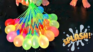 Learn Colors with Water Balloons and Ingrid Surprise Rhymes