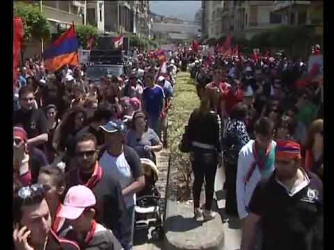 April 24, 2013 The 98th Commemoration Of The Armenian Genocide In Lebanon