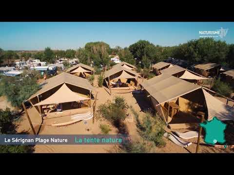Bungalow Toile Meublé Au Sérignan Plage Nature - Domaine Naturiste