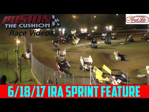 Angell Park Speedway - 6/18/17 - IRA Sprints - Feature