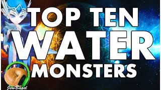 SUMMONERS WAR : TOP 10 WATER MONSTERS !!!