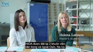 Du học Nauy - Đại học Khoa học Ứng dụng Oslo và Akershus (HiOA)   Du học Vic
