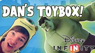 Disney Infinity 2.0 - Creating Dantdm's Toybox!