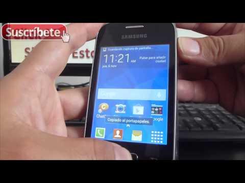 Samsung Galaxy Pocket 2 Trucos Captura de pantalla en android
