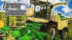 FARMING SIMULATOR 20 - Häckseln, Pferde, Marken im LS20 | Landwirtschafts-Simulator 20 Gameplay