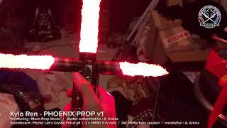 Kylo Ren lightsaber - PHOENIX v1