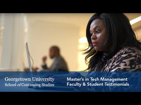 Master's in Technology Management: Faculty & Student Testimonials