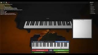 Ich bereinigungs eige meinen Schrank ROBLOX Klavierblatt