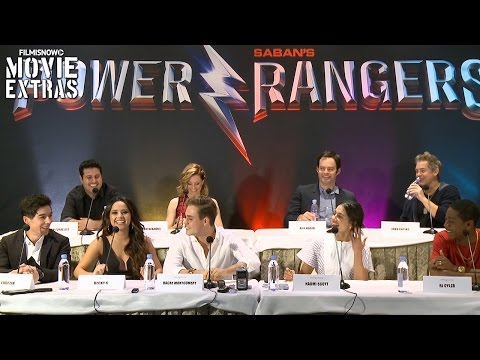 Saban's Power Rangers | Complete Press Conference with cast,