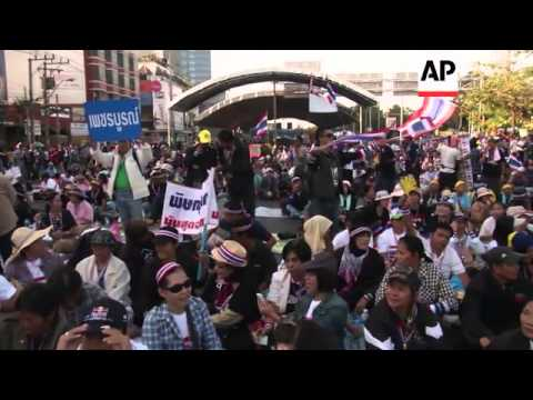 Anti-government protesters vow to shut down Bangkok in push to topple PM