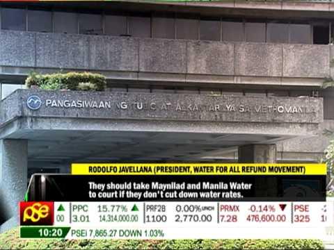 MWSS to order Manila Water to reduce rates