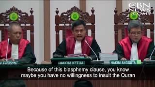 Protestors Rally for Jakarta's Christian Governor