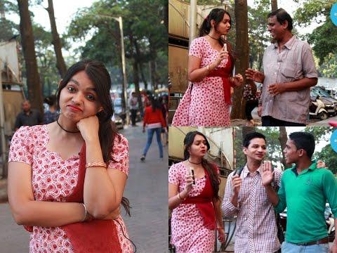 Hot Bhojpuri Girl On Street | सड़क पर गर्म भोजपुरी महिला | Prank By Ankita