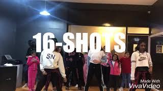 Stefflon Don-16 Shots- Dance Choreography #TMillyTV