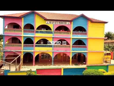 #Kumasi #Africa #Ghana # The Buildings in SANTASI / PATASI(kumasi) WILL AMAZE YOU