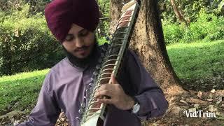 Raag Sorath Mishrat। Taus (Mayuri Veena)। Amritpal Singh