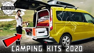 10 Best Camping Kits and Portable Kitchens to Replace Your Motorhome in 2020