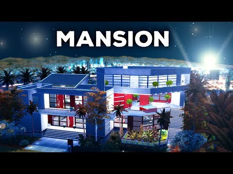 HOLLYWOOD MANSION - The Sims 4 Build thumbnail