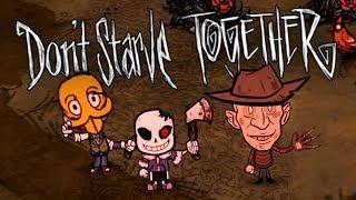 Don't Starve Together - ФРЕДДИ КРЮГЕР ВЫЖИВАЕТ