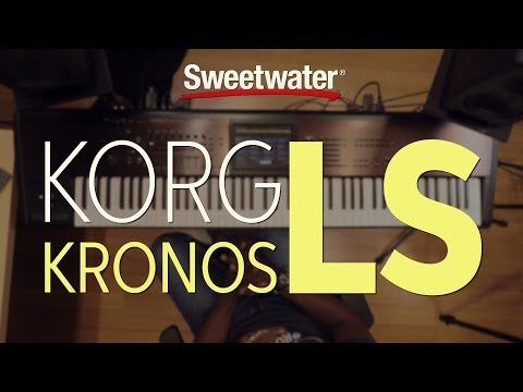 Korg Kronos LS Synthesizer Review