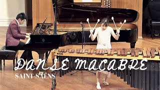 Danse Macabre by Saint-Saëns | Marimba and Piano duo | Therese Ng & Chris Wong
