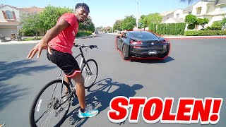 CRAZY Fan BREAKS into the MANSION & STEALS My BMW i8!