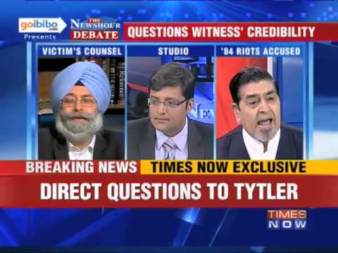 The Newshour Direct: Jagdish Tytler (Part 1 of 4)