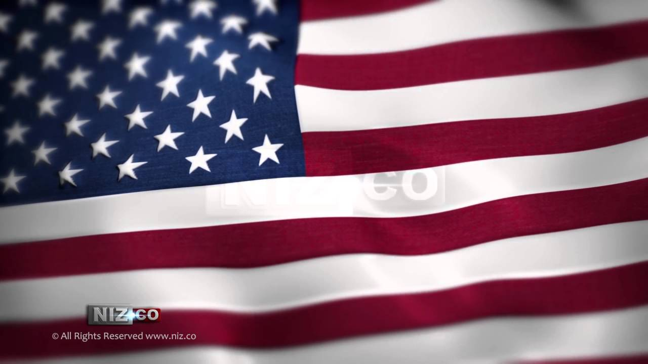 usa flag - royalty free background loop hd 1080p - youtube