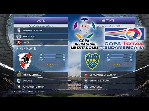 PES 2015 - Copa Libertadores y Copa Sudamericana - Equipos y Uniformes