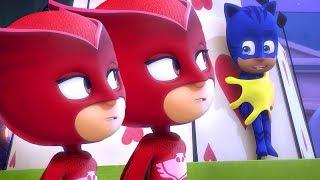 PJ Masks en Español Nueva Temporada 2 🎡Las Carrozas Locas   💙 Dibujos Animados