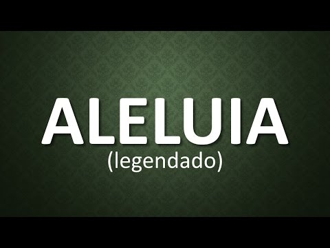 Aleluia (legendado) - Jotta A. e Michely Manuely