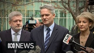 Cormann tells Turnbull it's time to resign