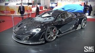 UP CLOSE: FAB Design McLaren P1 at Geneva 2014