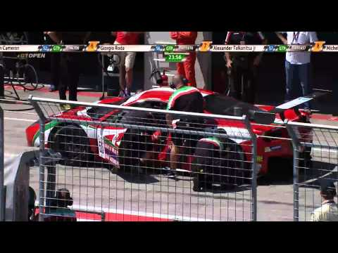 International GTOpen 2015 ROUND 4 AUSTRIA - Red Bull Ring Race 2