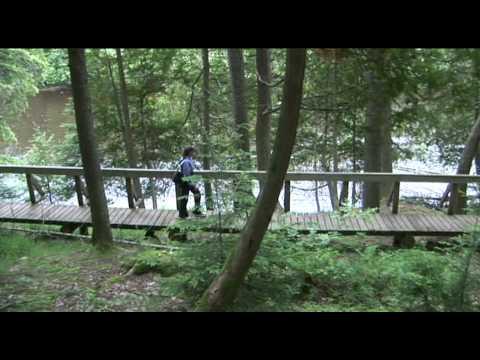 Trails of Michigan, Taquamenon Falls State Park River Trail