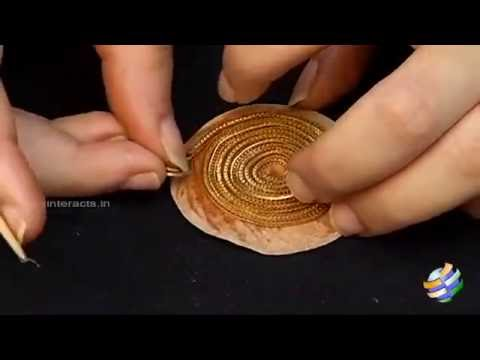 How to make a Gold Spiral Pendant