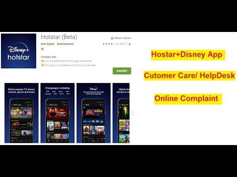 Hotstar VIP Customer Care for Live Sports/ TV Movies \u0026 Originals
