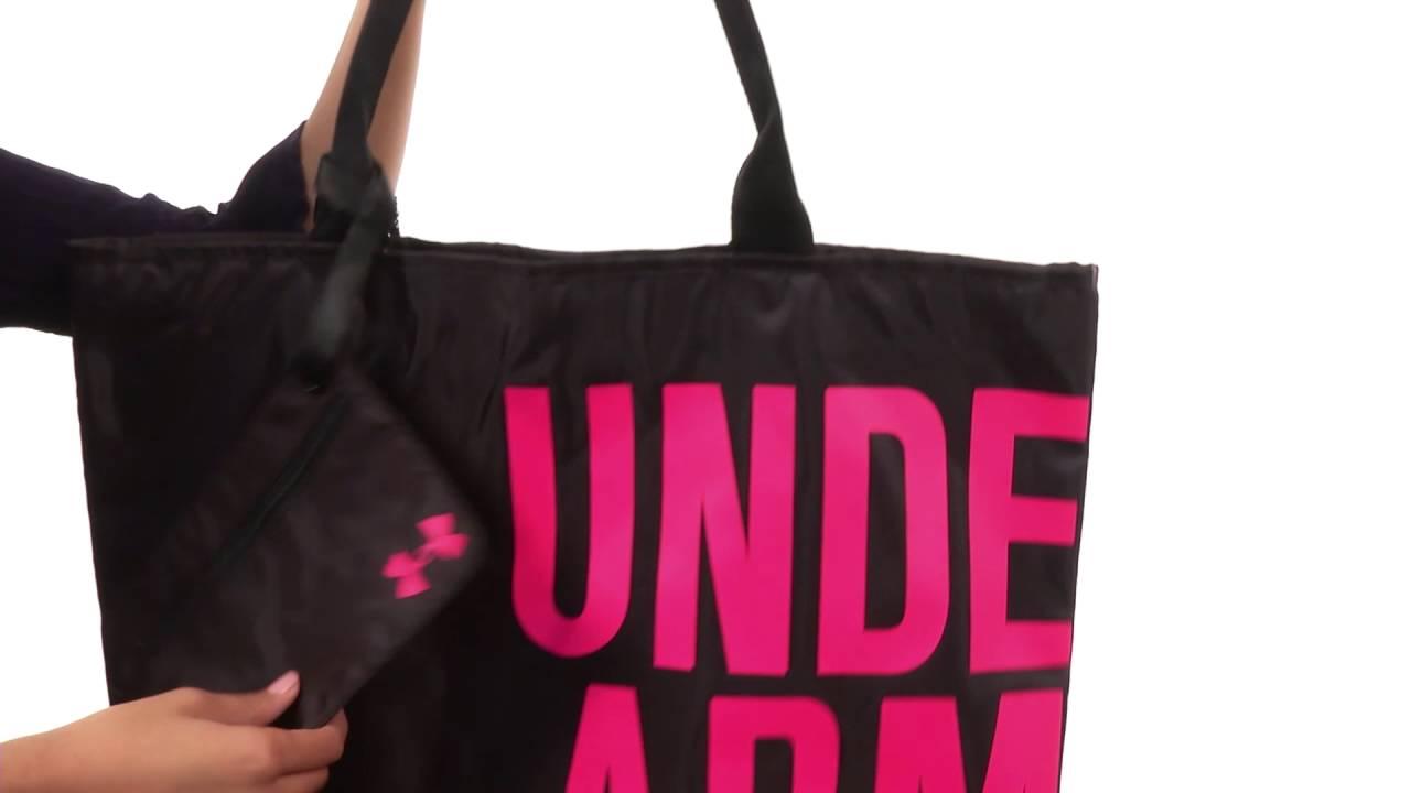 Under Armour UA Big Wordmark Tote SKU 8452728 - YouTube 05e12f865d540