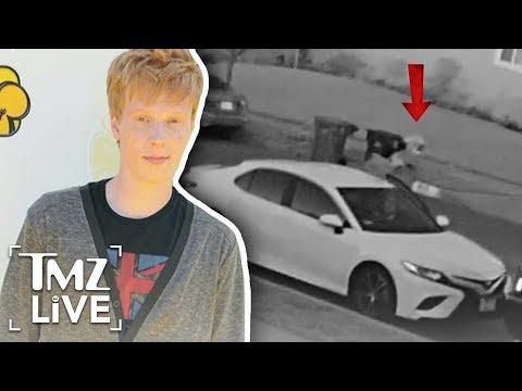 Disney Star  Alleged Armed Robberry Video   TMZ Live