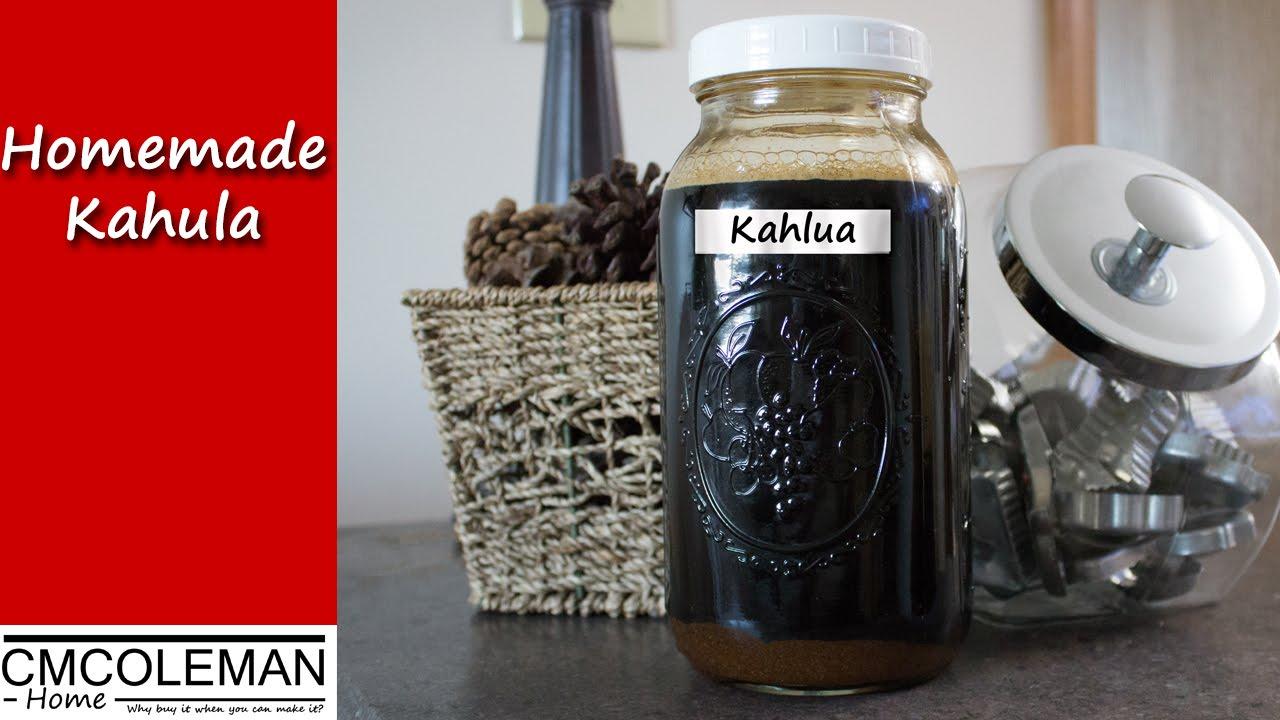 Homemade Kahlua Recipe, version 1 - YouTube