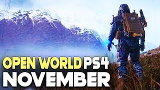 5 Huge New Ps4 Open World Games Coming In November 2019! - Upcoming Games 2019