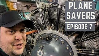 "Plane Savers E7 ""My Brother Found Us a DC-3  Engine!"""