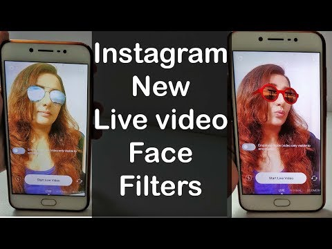 How to enable and use new Instagram Live video Face Filters