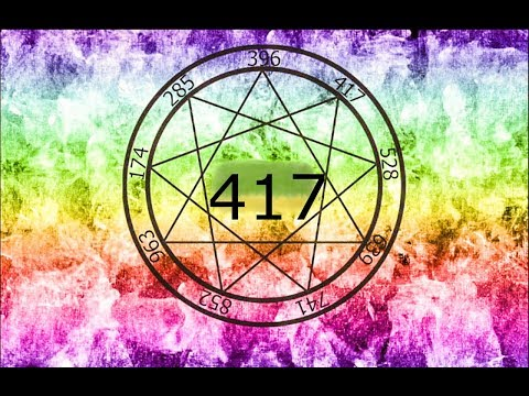 417 HZ- CLEANSE TRAUMA- INCREASE DNA POTENTIAL- IMPROVE CELL