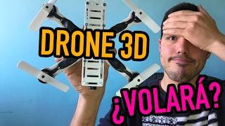 El drone impreso en 3D - Dronevlog #5 en Español - deDrones