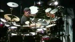 Rush - The Rhythm Method (Drum Solo) 10-13-2002