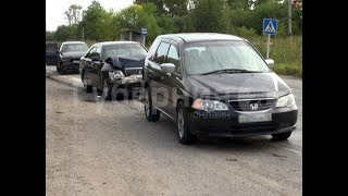 В Хабаровском районе произошла авария, больше похожая на дорожную инсценировку. MestoproTV
